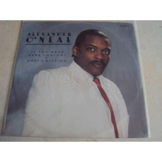 Alexander o'neal If You Were Here Tonight (Vocal 6'08) 1985 UK