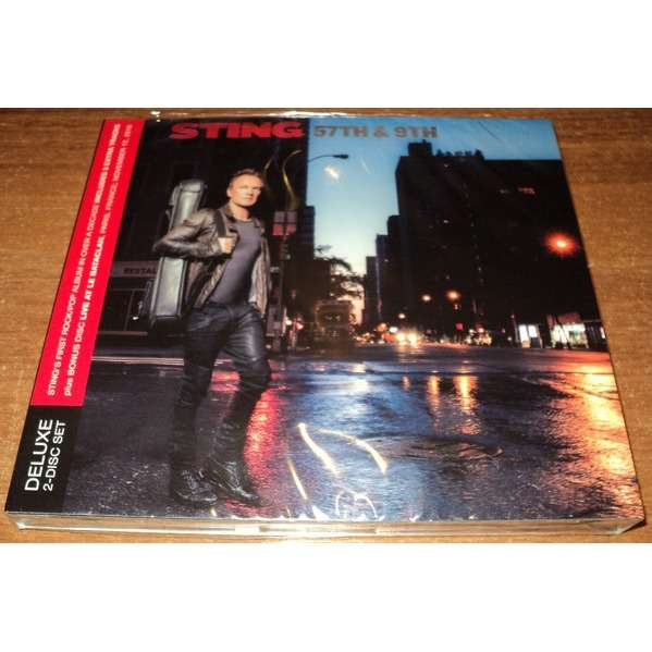 Sting 57th & 9th / Live At Le Bataclan 2016 (New Factory Sealed 2CD Digipak)