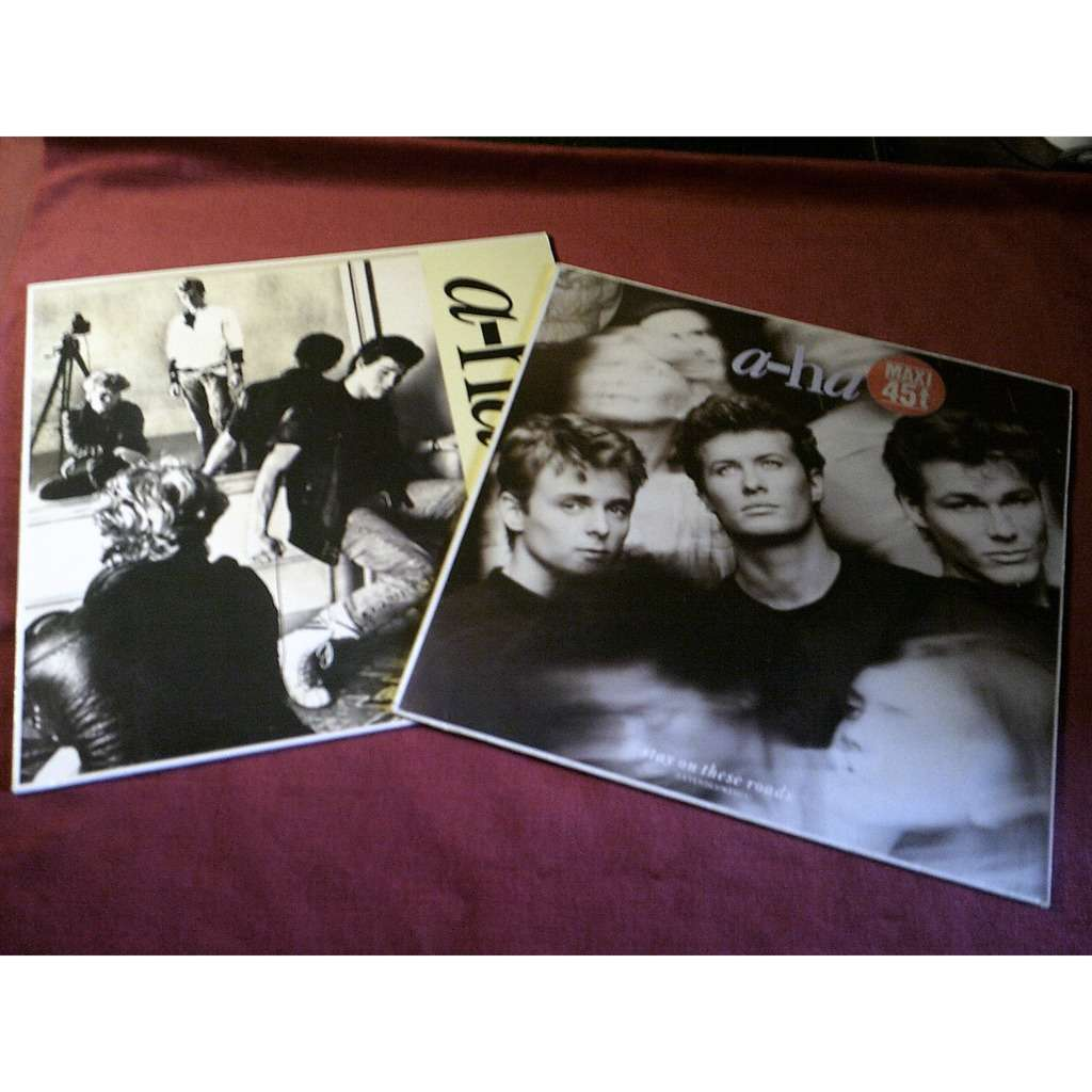 a-ha collection de 5: vinyles 3 / 33 TOURS + 2 MAXI
