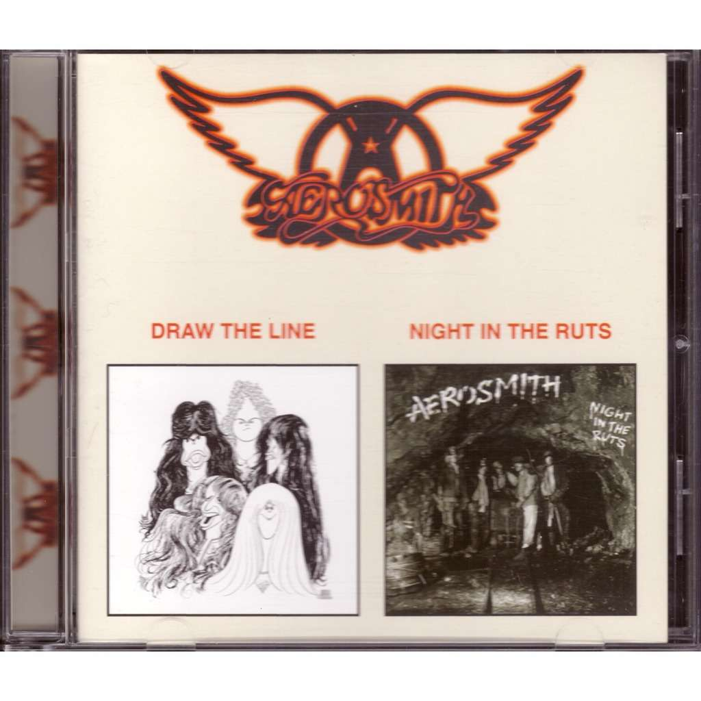 Draw The Line Night In The Ruts By Aerosmith Cd With Rimacd Ref