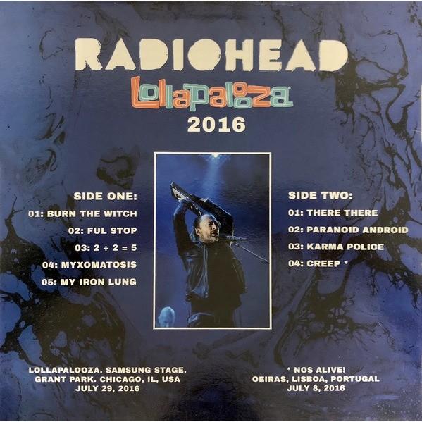Radiohead Lollapalooza 2016 (lp)