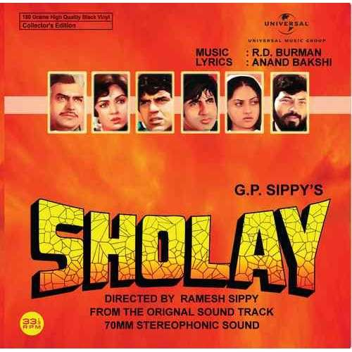 Rahul Dev Burman Sholay - 602547905369