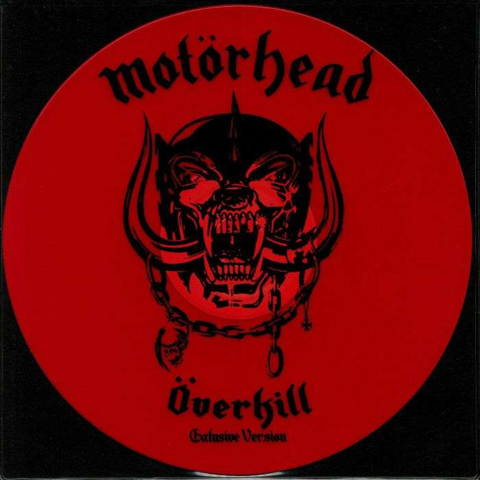 MOTÖRHEAD overkill/ breaking the law (12') limited edition red vinyl