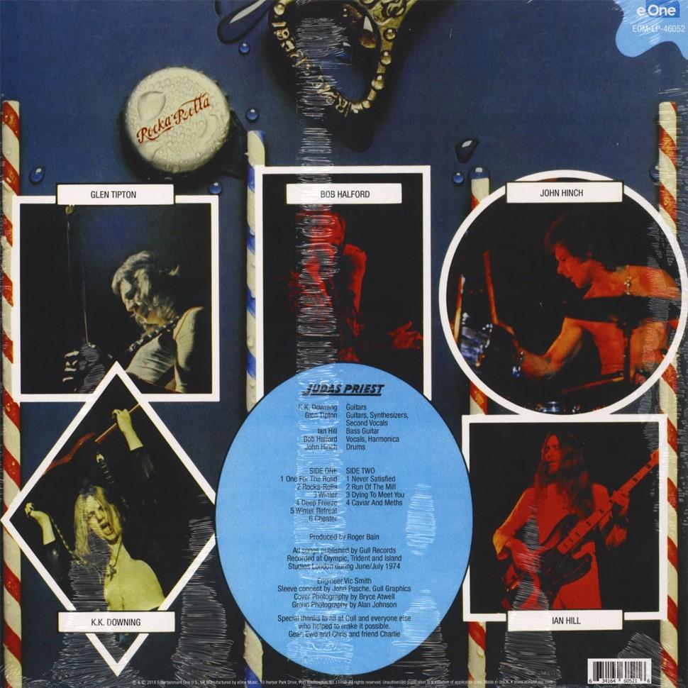 JUDAS PRIEST rocka rolla (lp) ltd edit cola green vinyl