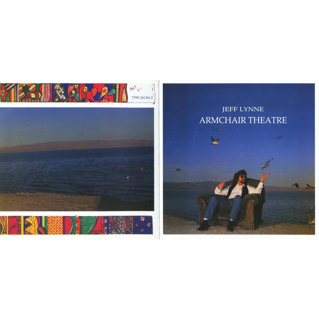 7a6d9ed4cba Armchair theatre by Jeff Lynne, CD with solarfire - Ref:119392035