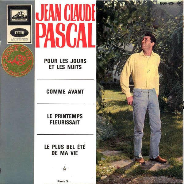 Jean-Claude Pascal Pour les jours et les nuits