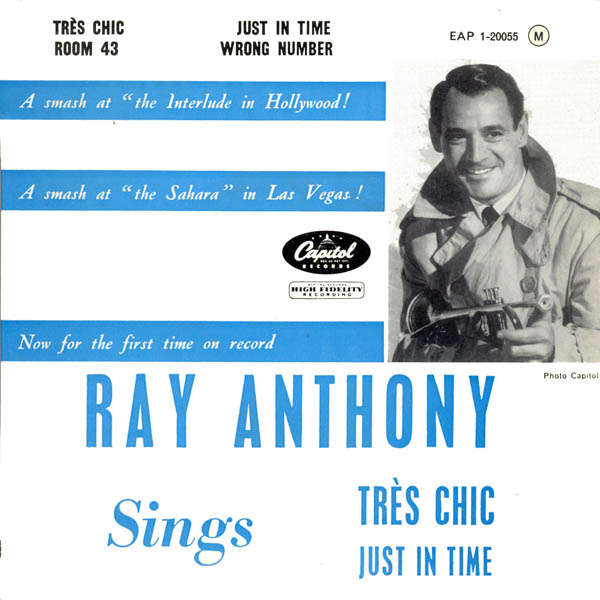 ray anthony Sings