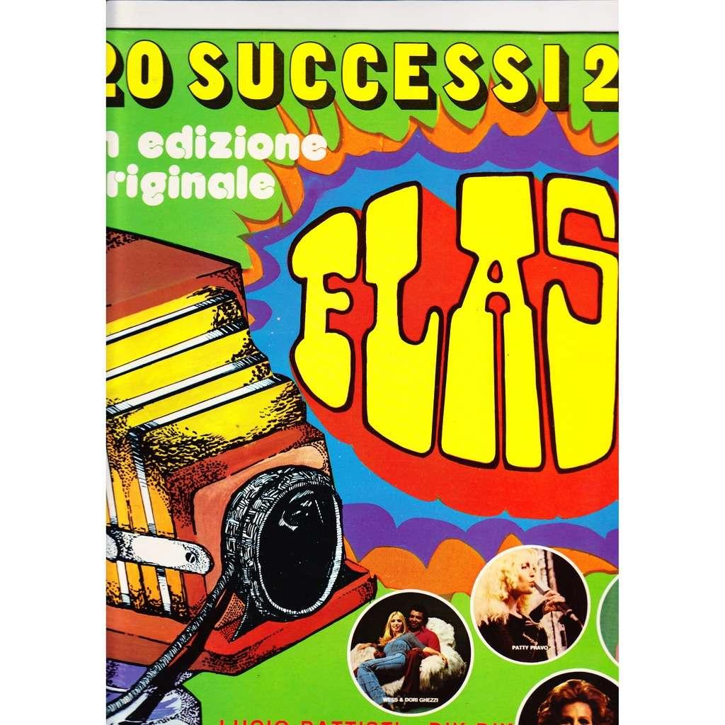 Patty Pravo /Lucio Battisti /Lucio Dalla /Gianni M 20 successi in edizione originale 1978