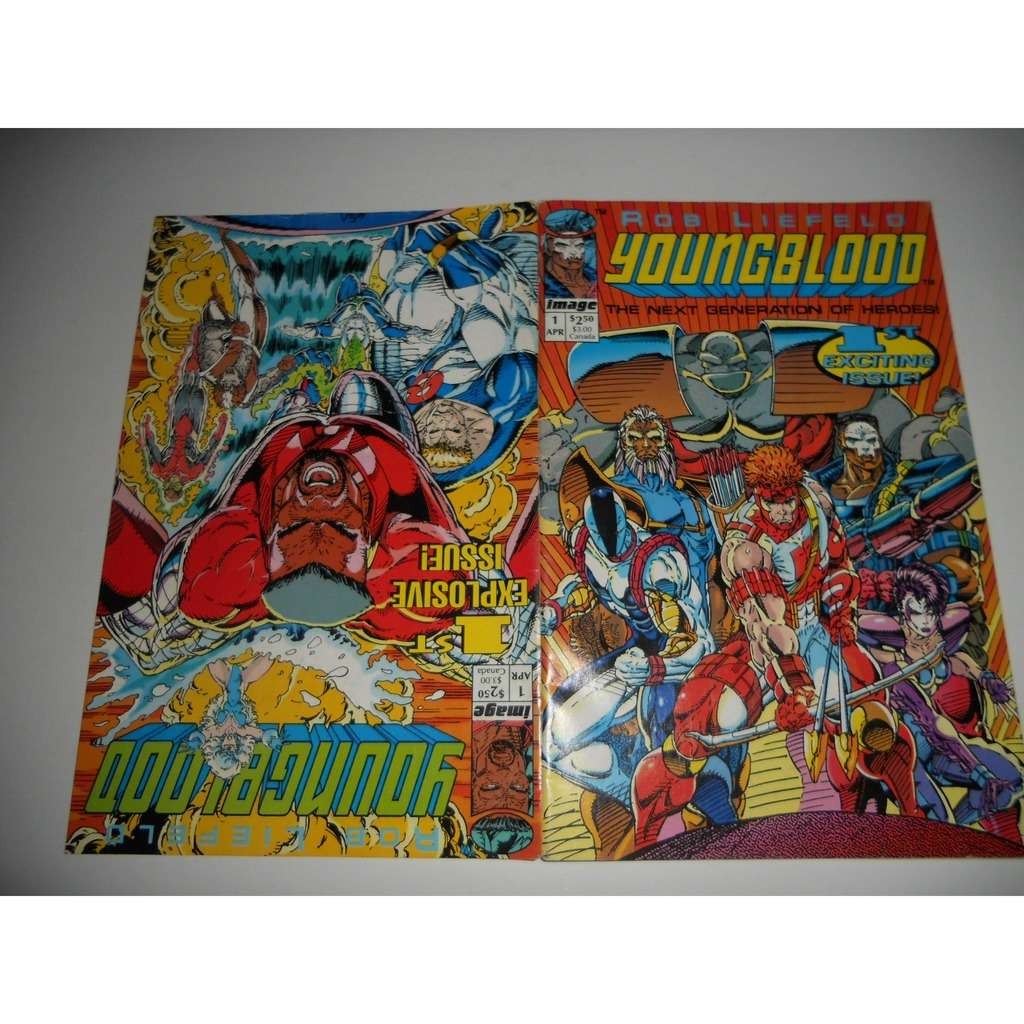 Comic, Youngblood, nº 1, Image, World Comics,Plane Comic, Youngblood, nº 1, Image, World Comics,Planeta DeAgostini,Rob Liefeld,1994 EN V O