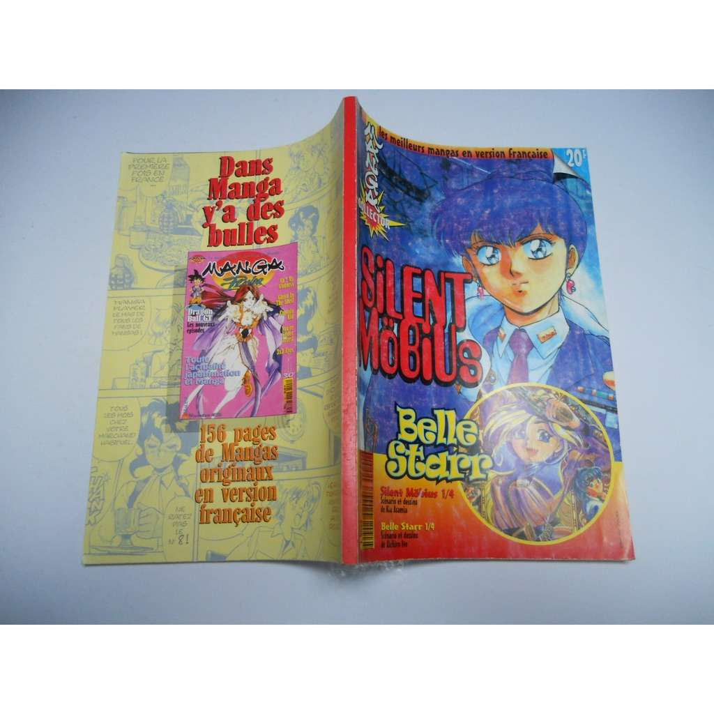Silent Mobius N° 1 : Belle Starr COLLECTOR Silent Mobius N° 1 : Belle Starr COLLECTOR