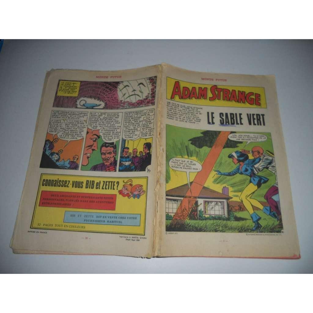 Adam Strange monde futur , N° 3 : Le Sable Vert Adam Strange monde futur , N° 3 : Le Sable Vert