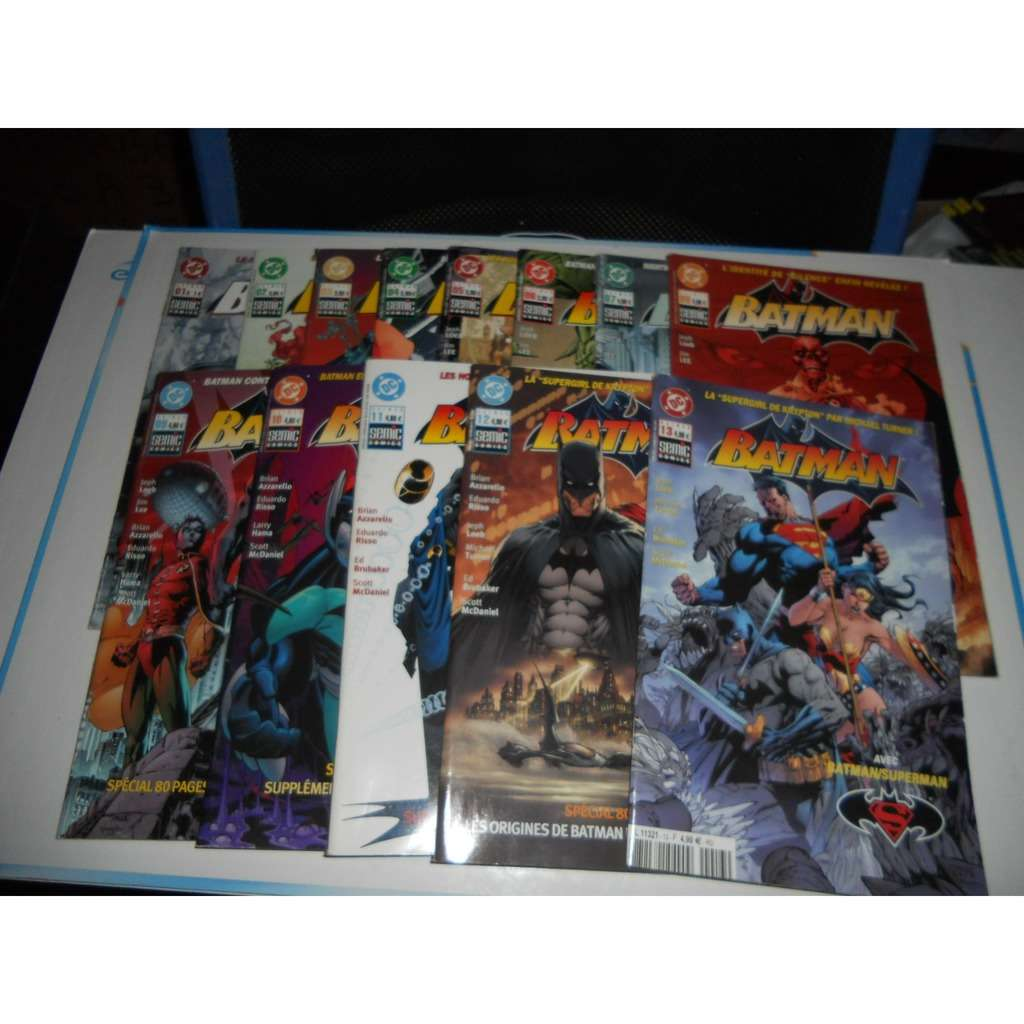 Batman Semic Dc Lot De 13 Bd N°1/2/3/4/5/6/7/8/9/1 Batman Semic Dc Lot De 13 Bd N°1/2/3/4/5/6/7/8/9/10/11/12/13 En Tbe