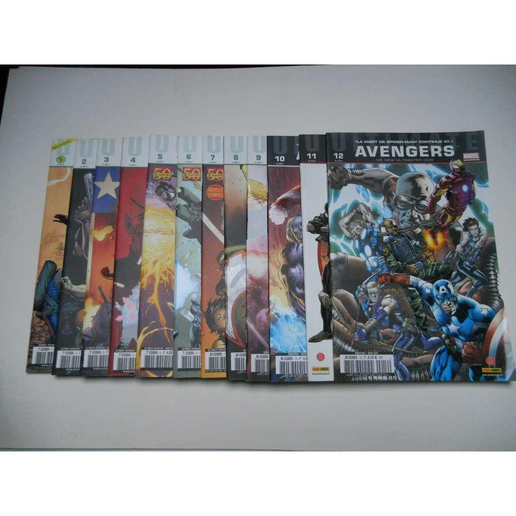 Avengers Ultimate Collection Complete Du N°1 Au N° Avengers Ultimate Collection Complete Du N°1 Au N°12 Marvel Panini Comics Tbe