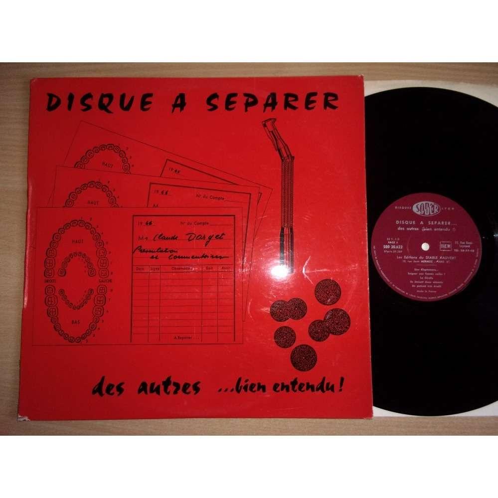 Claude Darget Jacques Dane et Manganelli Disque a separer des autres ... bien entendu ! ...
