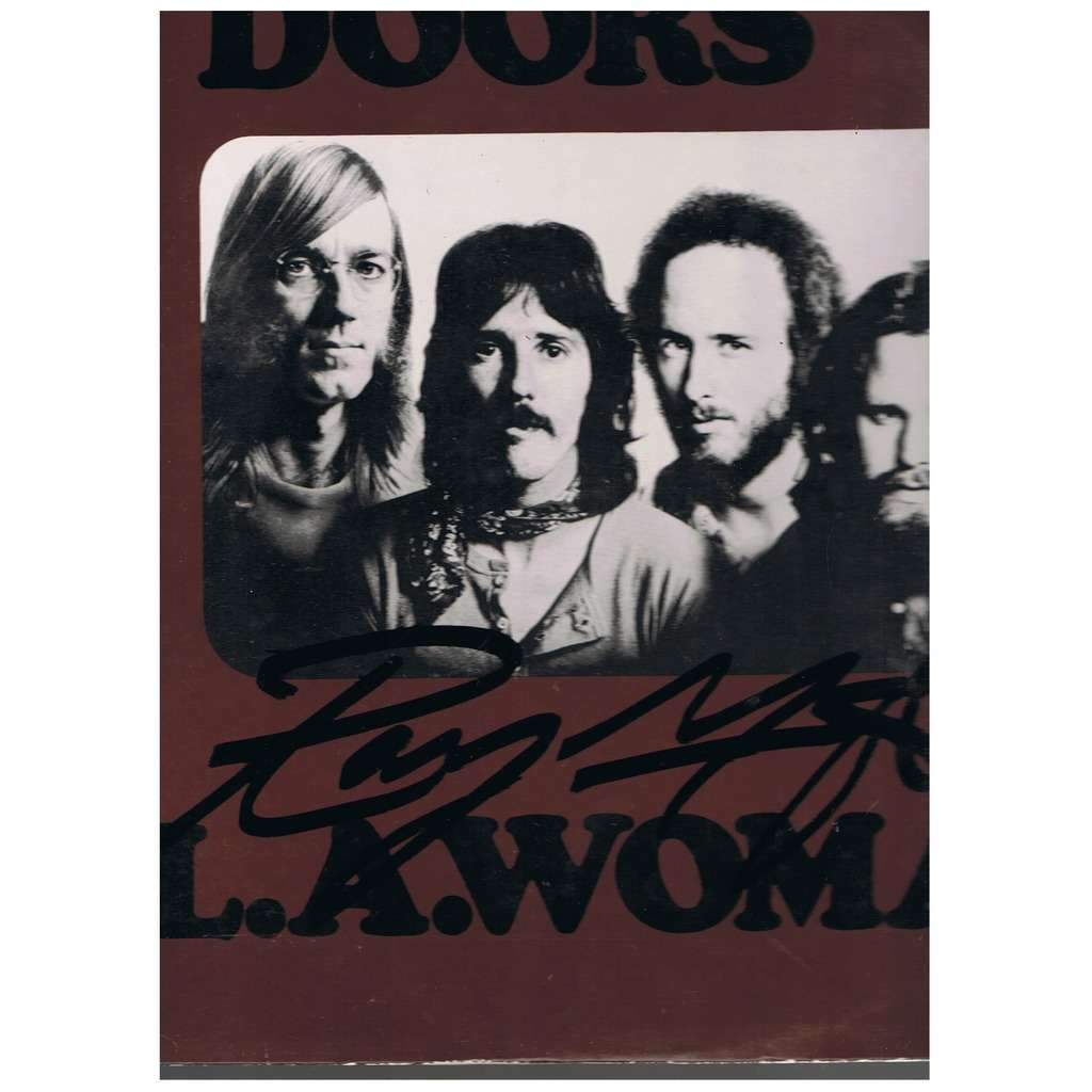 DOORS L.A. WOMAN -signed-