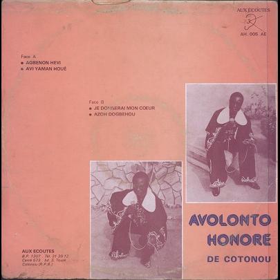 Avolonto honoré, Poly-Rythmo de Cotonou Agbenon hevi