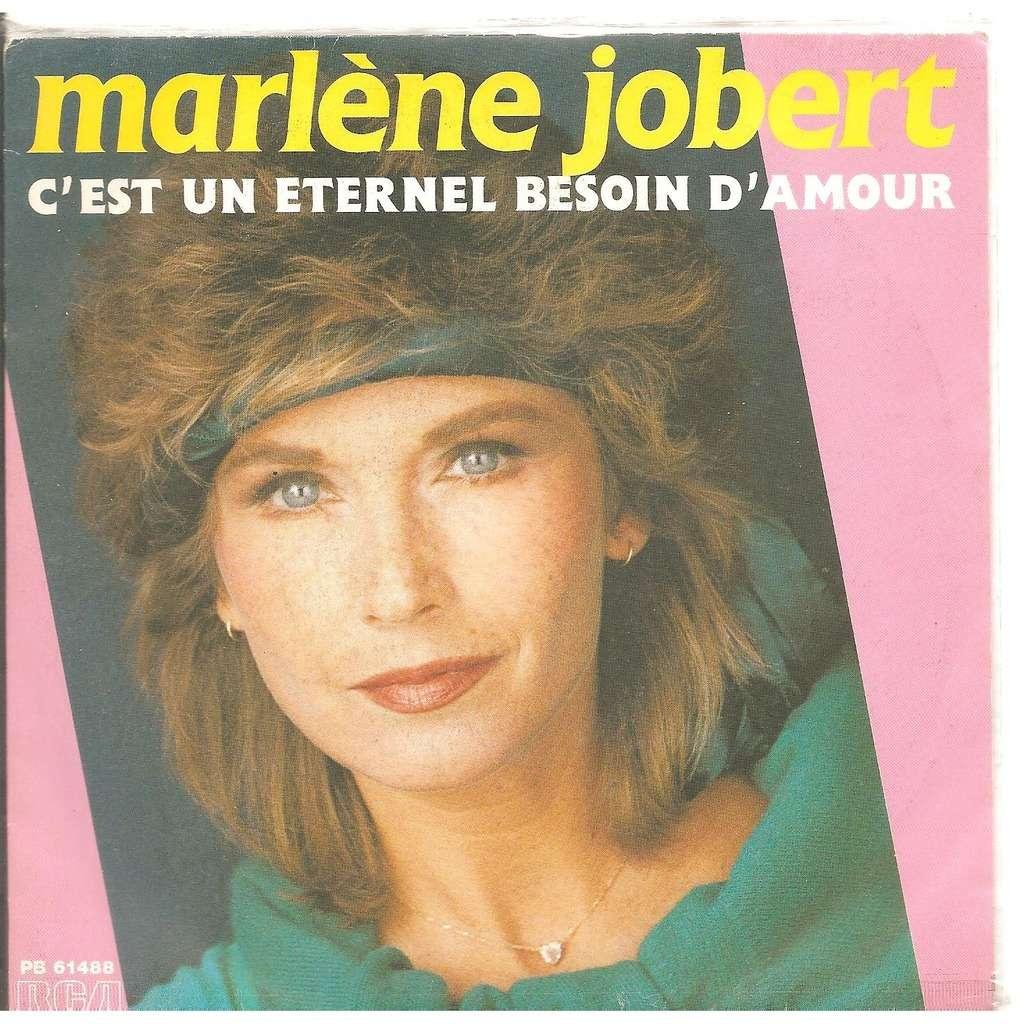 Jobert Marlene c'est un eternel besoin d'amour / peux pas le dire