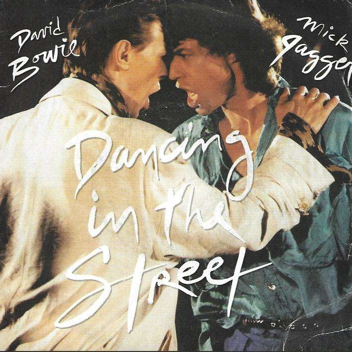 BOWIE DAVID / JAGGER MICK dancing in the streets / dancing in the streets