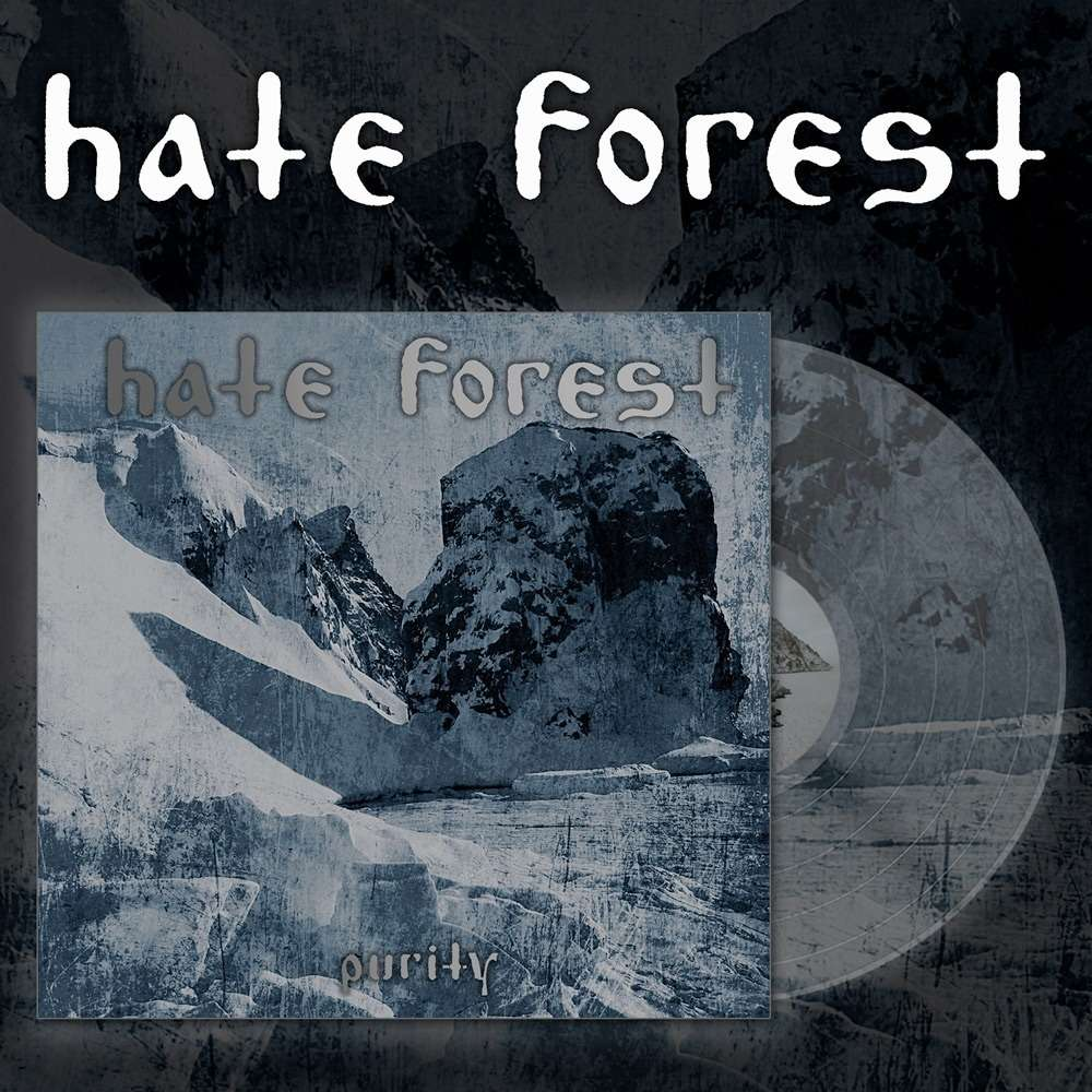 HATE FOREST Purity. Clear Vinyl