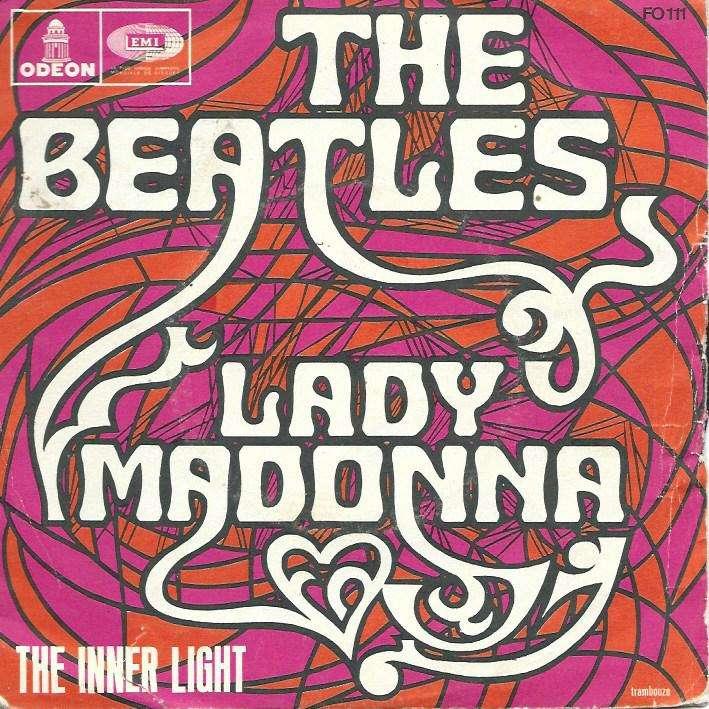 beatles lady madonna / the inner light (sans the)