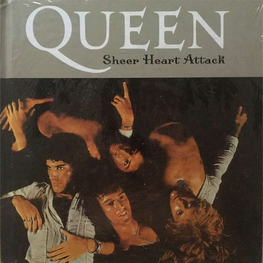 QUEEN - SHEER HEART ATTACK (SEALED RARE SP. PRESSING 1 CD HOUSED IN A 7 X 7 CARDBOARD BOX WITH BOOK)