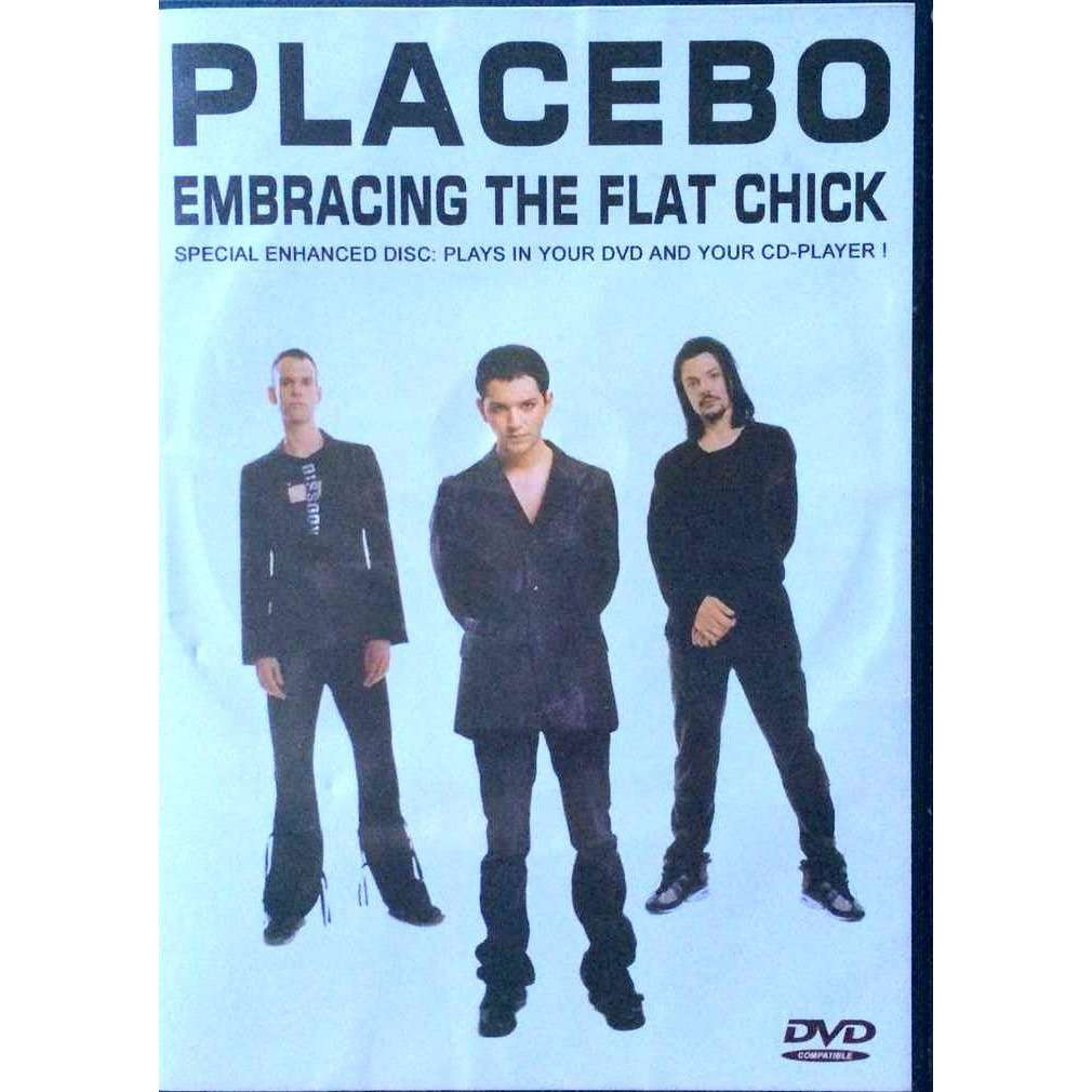 PLACEBO - EMBRACING THE FLAT CHICK (COMPATIBLE DVD/CD PLAYER - PRIVATE PROMO CONCERT, MAN RAY CLUB, PARIS, FRANCE, MARCH, 29, 2003)