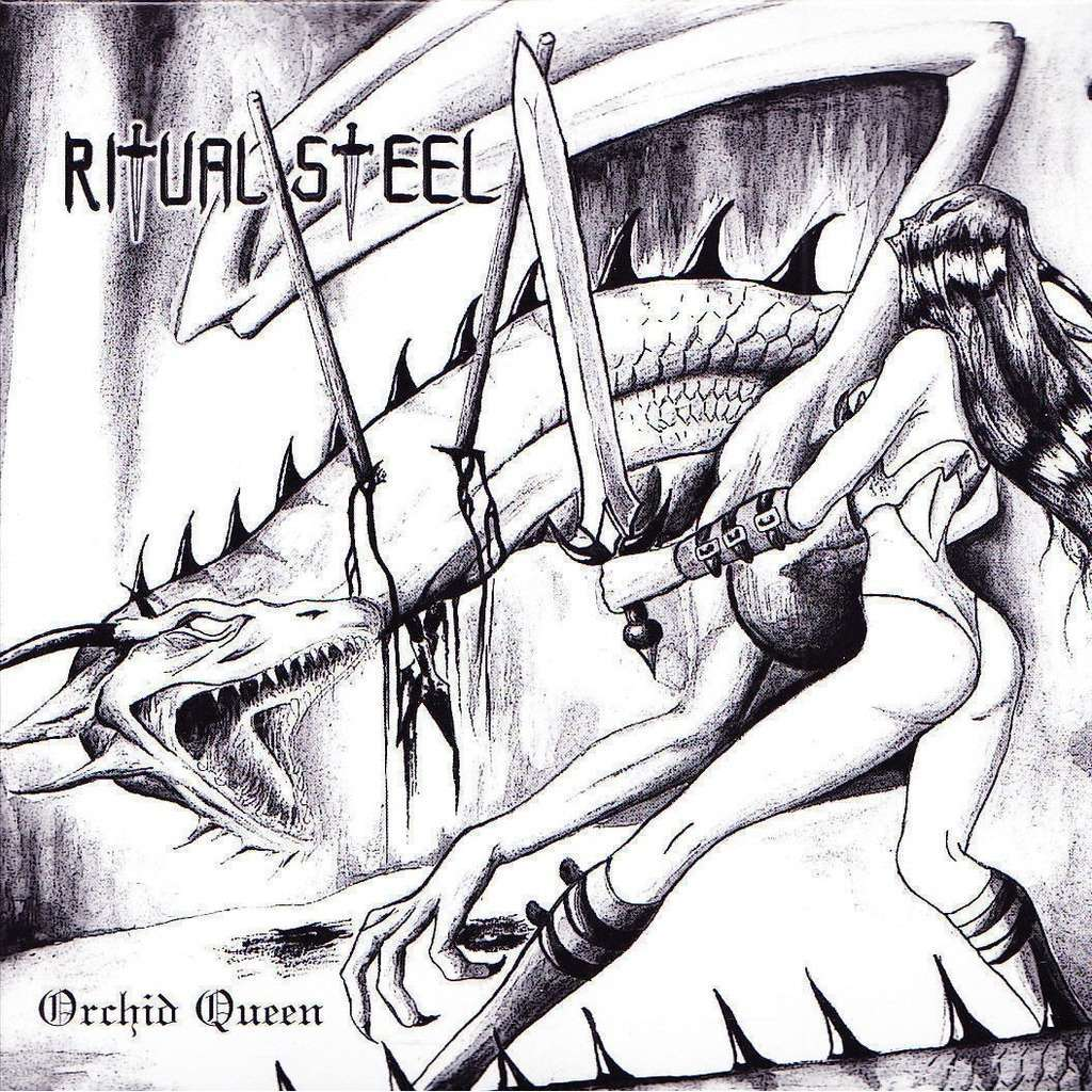 RITUAL STEEL - ORCHID QUEEN (GER. PRESSING 2 TRK 7 COMP. W/INSERT)