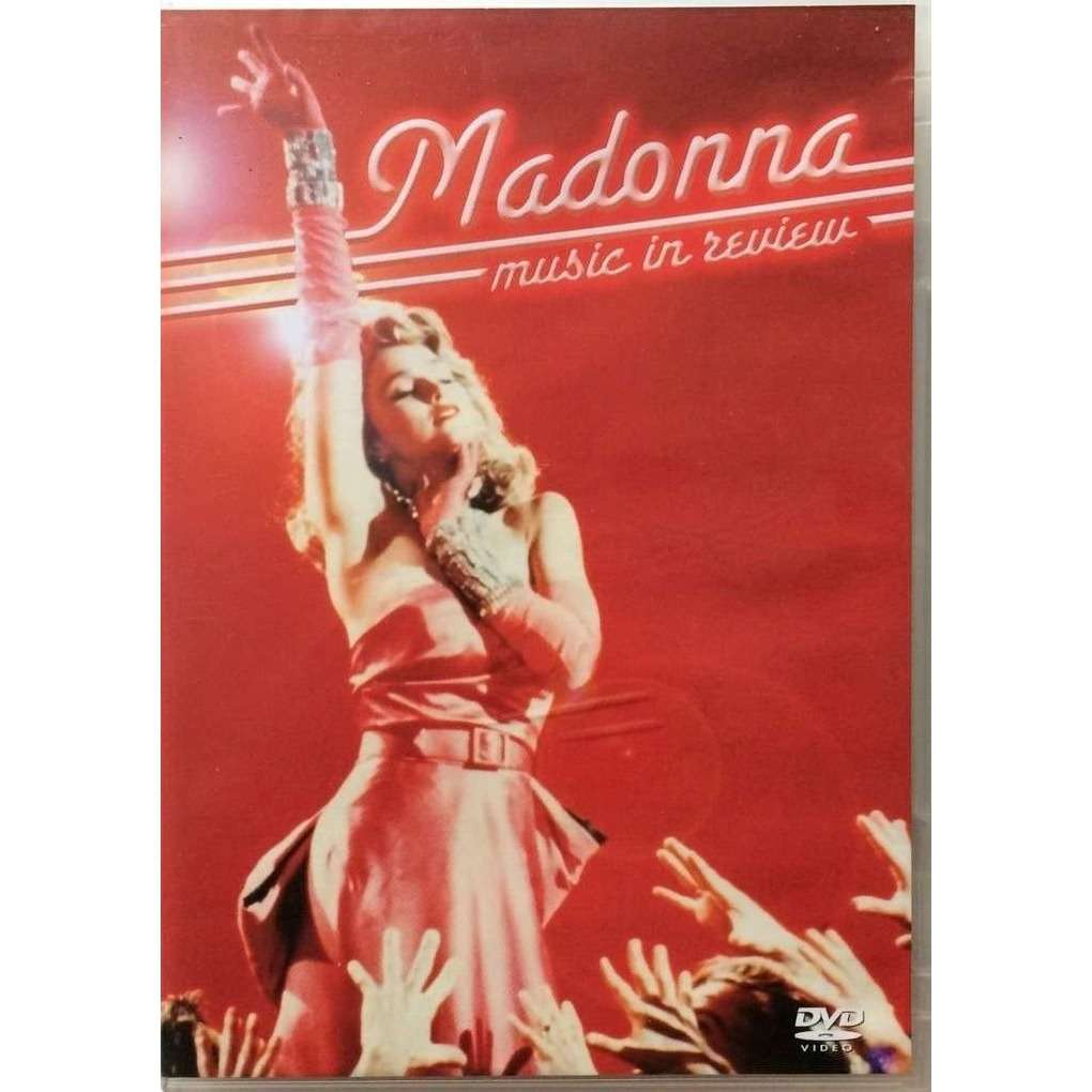 MADONNA - MUSIC IN REVIEW (EURO PRESSING 1 DVD)