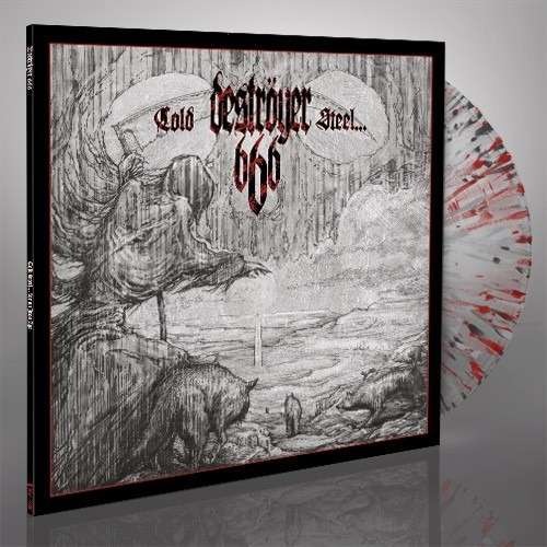 DESTROYER 666 Cold Steel For An Iron Age. Splatter Vinyl