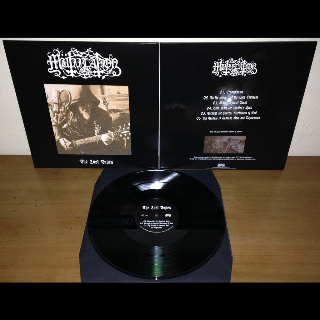 MUTIILATION The Lost Tapes. Black Vinyl