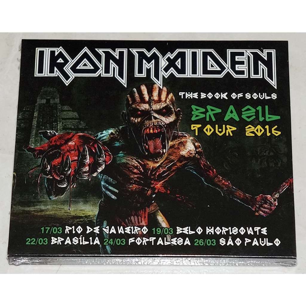 Iron Maiden The Book Of Souls - Brazil Tour 2016 (Brazil release 2016)