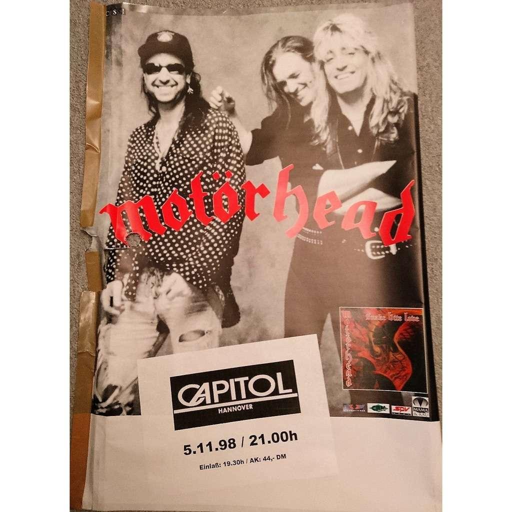 Motörhead Capitol Hannover 05.11.1998 (German 1998 original promo Concert poster!!)