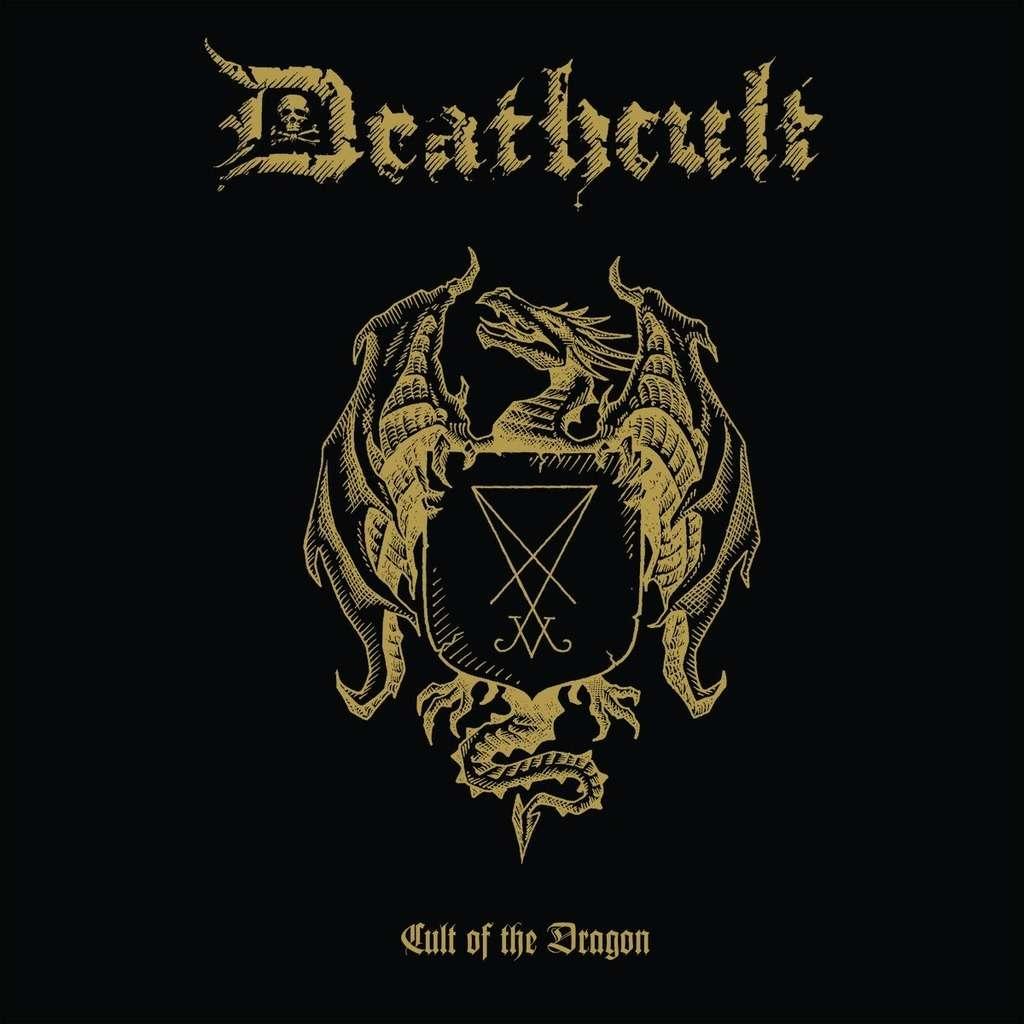 DEATHCULT Cult of the Dragon. Black Vinyl