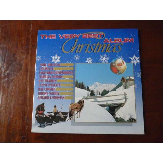 Ray Charles Christmas.Very Best Christmas Album 1988 Andy Williams Caravelli Ray Conniff Gerard Lenorman Doris Day Ray Charles