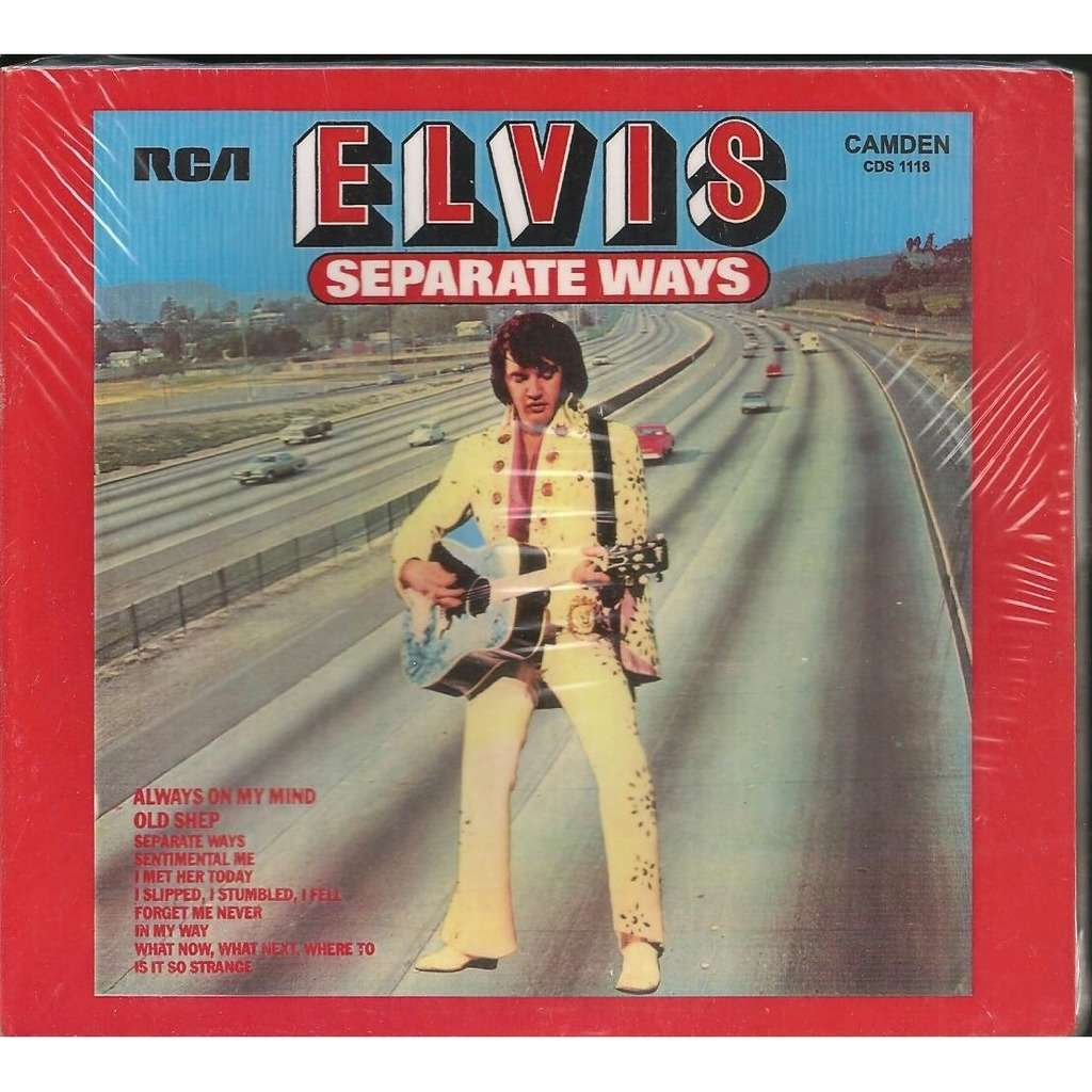 elvis presley 1 cd digipack separate ways 10 remixed versions