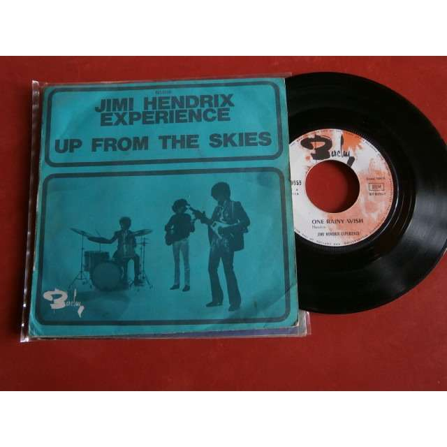 jimi hendrix experience up from the skies