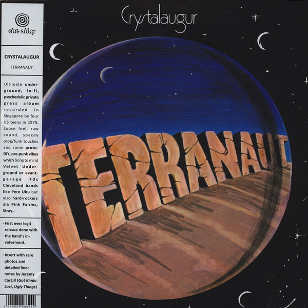 Crystalaugur Terranaut (lp)