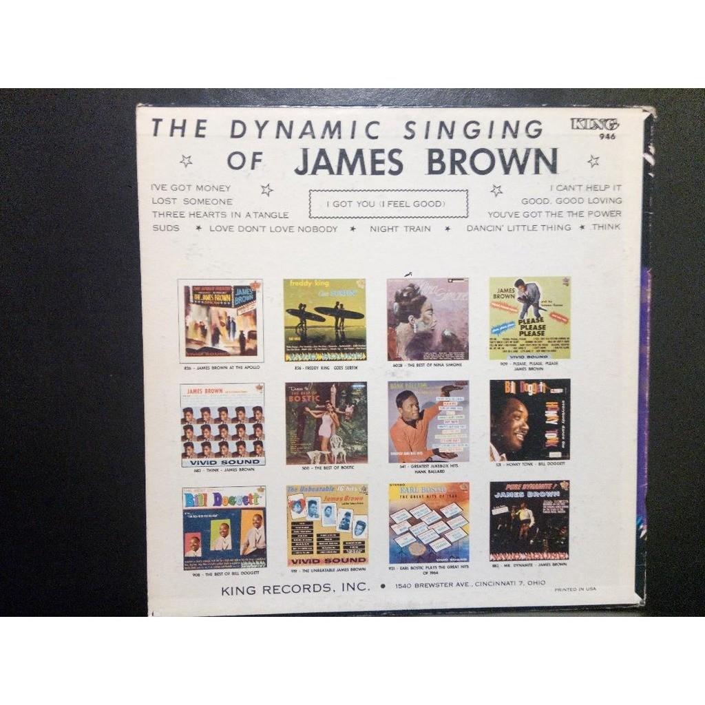 JAMES BROWN I got you (i fell good)Orig US KING