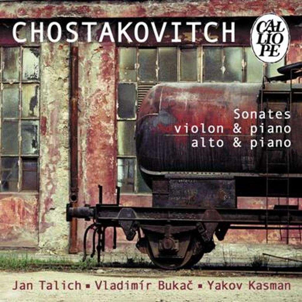 Shostakovich, Dmitri Viola Sonata; Violin Sonata / Yakov Kasman, Jan Talich, Vladimir Bukac