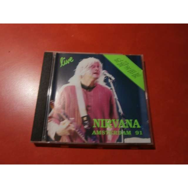 nirvana Amsterdam '91