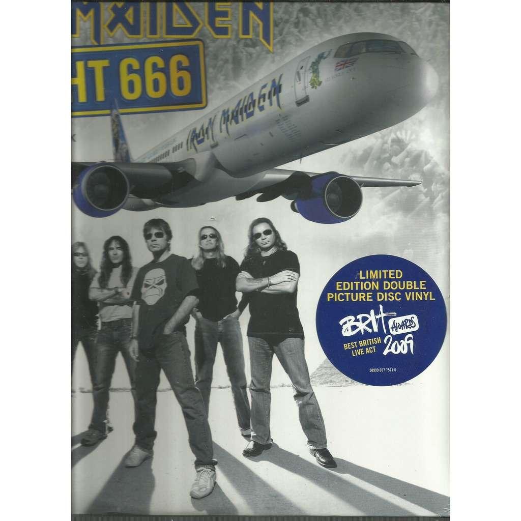 iron maiden flight 666 picturedisc
