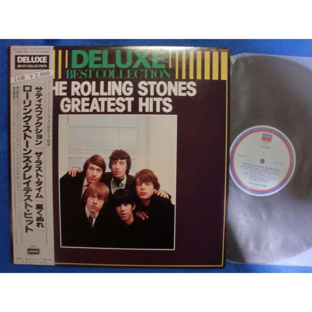 rolling stones greatest hits - deluxe best collection
