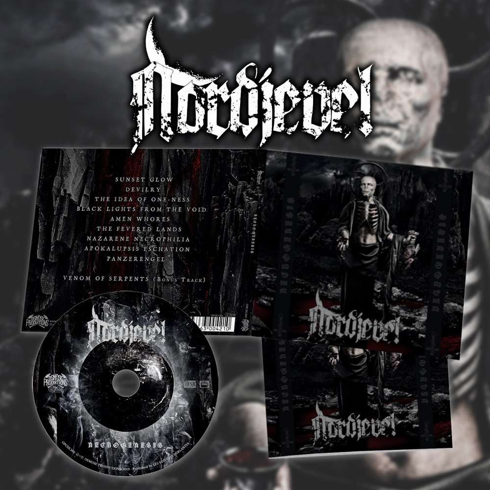 NORDJEVEL Necrogenesis. CD Digipack