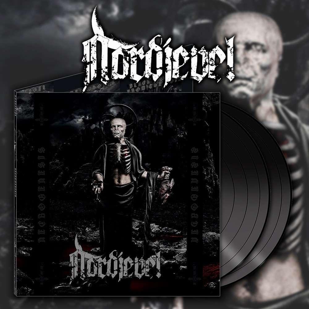 NORDJEVEL Necrogenesis. Black Vinyl