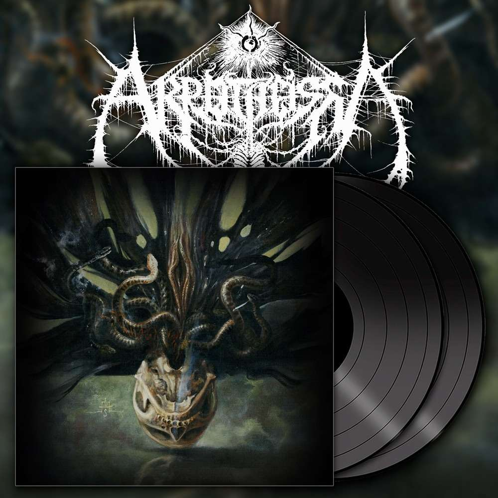 AKROTHEISM The Law of Seven Deaths. Black Vinyl