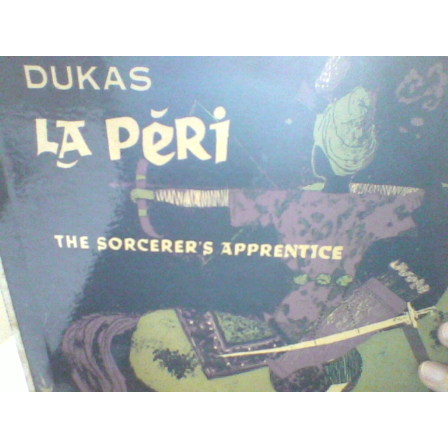 orchestra of the paris opera dukas (la peri) -