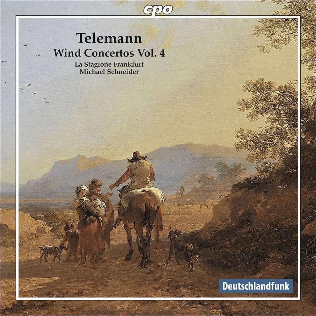 Telemann, Georg Philipp Wind Concertos, Vol. 4 / La Stagione Frankfurt, Michael Schneider