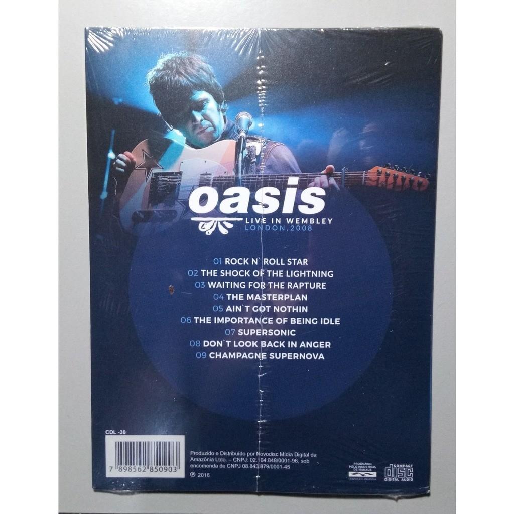 oasis Live In Wembley, London 2008 (Brazil release 2016)