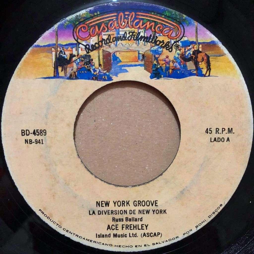 KISS La Diversion De New York (El Salvador 1978 original ' 2-trk 7single on Casablanca-Boni Discos lbl)