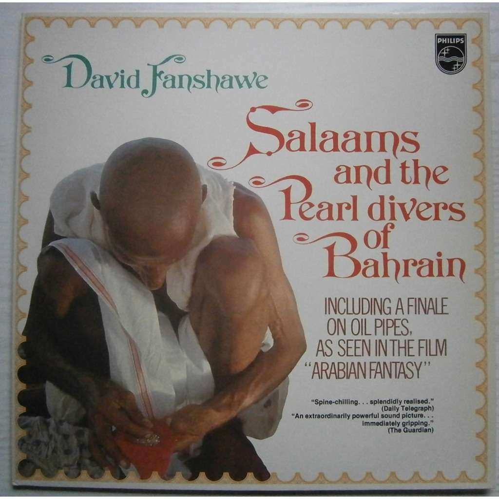 david fanshawe salaams and the pearl divers of bahrain